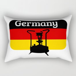 Pressure Stove with German Flag Rectangular Pillow