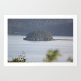 Island in the Quiet Morning Art Print