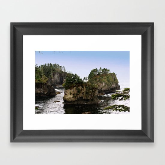 Tiny Islands Framed Art Print