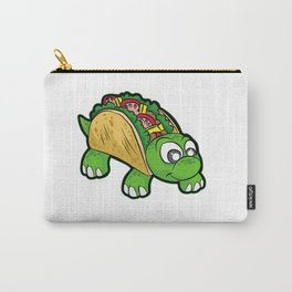 TURTILLA Tortilla Turtle Mexican Fast Food Gift Carry-All Pouch