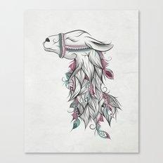 Llama Canvas Print