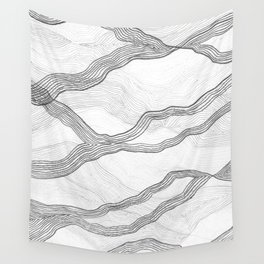Mountainscape 7 Wall Tapestry