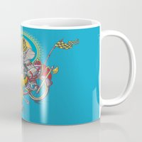 ganesh Mugs featuring Ganesh by mike reisel