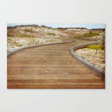 The Path to Discovery Canvas Print