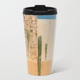 Abstract Cactus Travel Mug