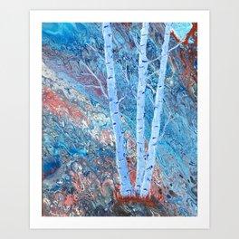 The Majesty of Birch Trees Art Print