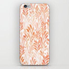 summer grass. seamless pattern iPhone Skin