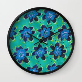 Alyson Rose Wall Clock