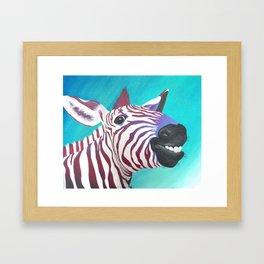 Zeke Framed Art Print