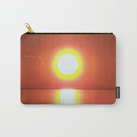 Halo around the Sun Carry-All Pouch