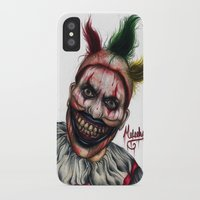 ahs iPhone & iPod Cases featuring Twisty-AHS No.2 by MELCHOMM
