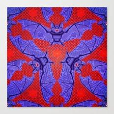 Vampire Blood Pattern Canvas Print