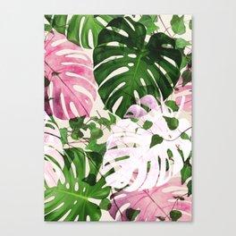 Topical garden Canvas Print