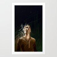 the maze runner Art Prints featuring The Runner by little_bird