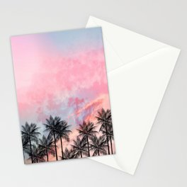 Summer Palm Tree #Society6 #Buyart #Decor Stationery Cards