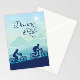 Dreamy Cycle Ride - Best Design Ever Stationery Cards