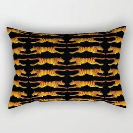 Leaping Tigers Rectangular Pillow