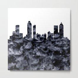 Atlanta Skyline Georgia Metal Print