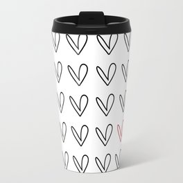 HEARTS ALL OVER PATTERN III Travel Mug