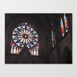 La Basílica del Sagrado Voto Nacional, Cinco Canvas Print