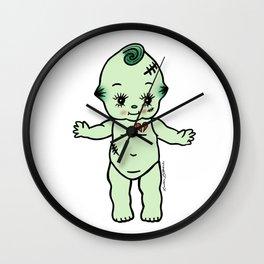 Frankenstein Kewpie Baby Wall Clock