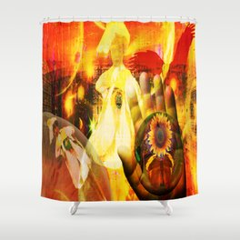wHAT DOES IT mEAN? Shower Curtain