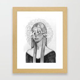 2 ways to be fooled Framed Art Print