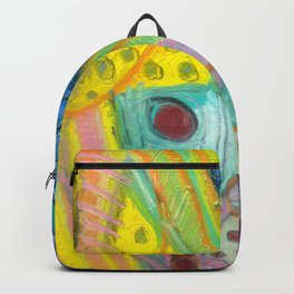 Abstract Boogie Woogie Backpack