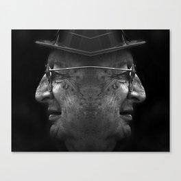 opposite  Canvas Print