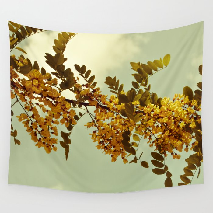 Nature Vintage Wall Tapestry By Vanessagf