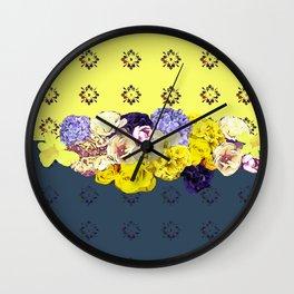 Sun in sea Wall Clock