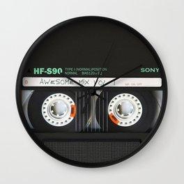 cassette classic mix Wall Clock