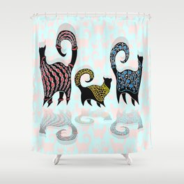 CASHMERE CATS Shower Curtain
