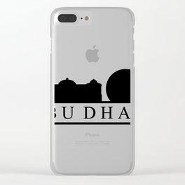skyline abu dhabi Clear iPhone Case