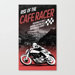 Rise of the Cafe Racer II Canvas Print