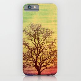 Bare Tree Vintage iPhone Case