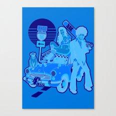 The Run Canvas Print
