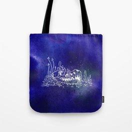 Dino skull – Blue Tote Bag