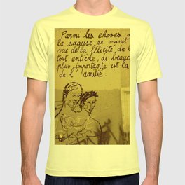 French Graffiti in Paris T-shirt
