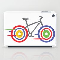 bike iPad Cases featuring Bike! by Alice Wieckowska