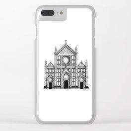 Basilica Di Santa Croce - Firenze Clear iPhone Case