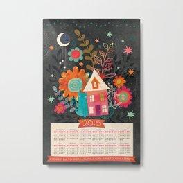 Love & Dreams - 2015 Calendar Metal Print