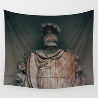 shield Wall Tapestries featuring Shield by HMS James