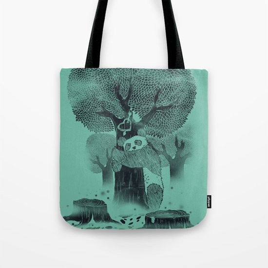 The Tree Hugger Tote Bag