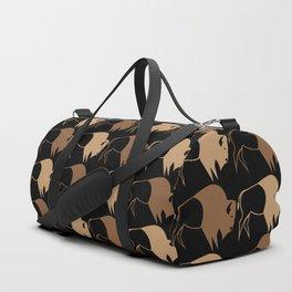 Native American Buffalo Running Duffle Bag