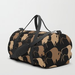 Native American Buffalo Running Duffle Bag