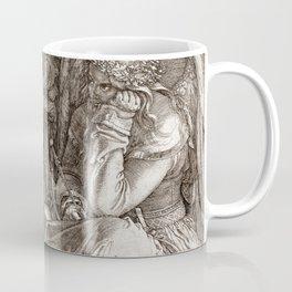 "Albrecht Dürer ""Melancholia I"" Coffee Mug"
