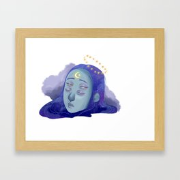 Galactic Awakenings Framed Art Print