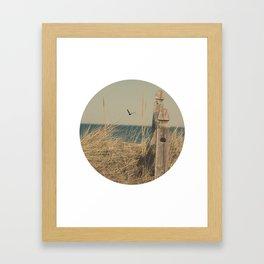 Paradise New England Beach Ocean Seaside Neutral Photography Fine Art Prints New  Framed Art Print
