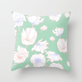 Bloomin' Throw Pillow